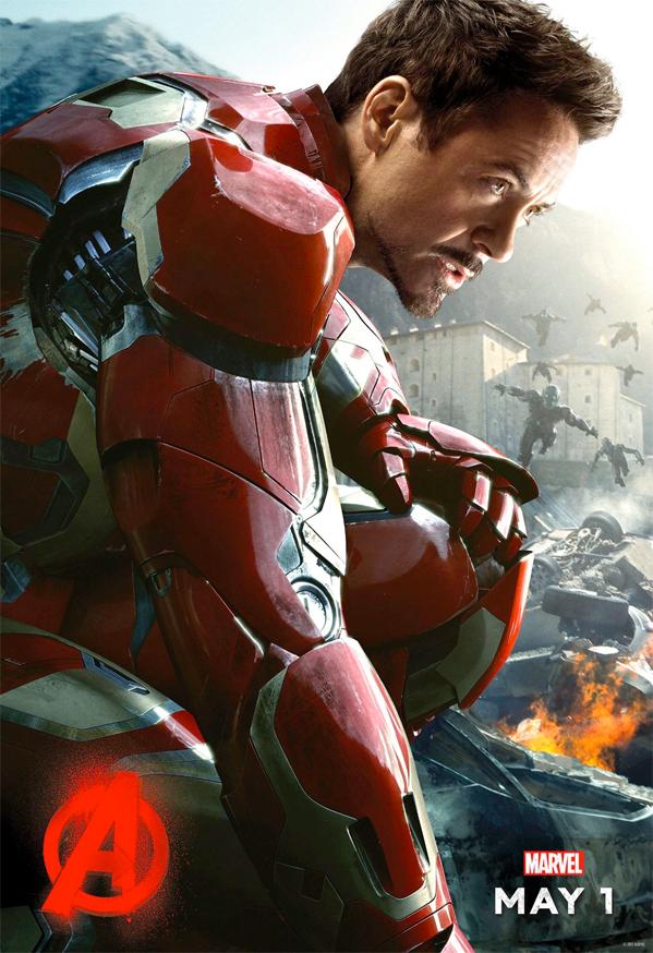 Железный Человек - Мстители: Эра Альтрона