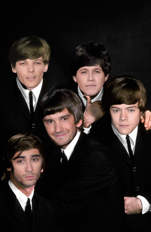 One Direction as Beatles