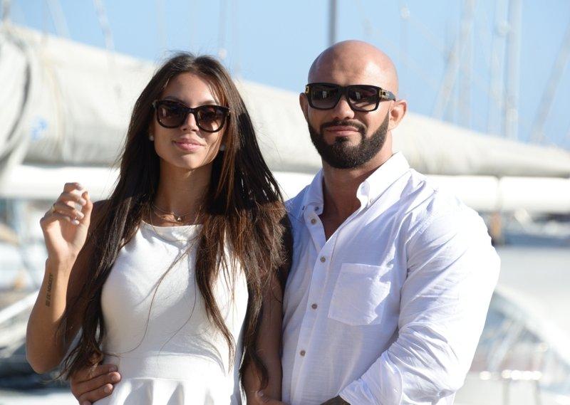 Джиган и его жена Оксана Самойлова