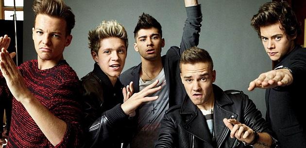 Гарри, Луи, Найл, Лиам и Зейн из One Direction