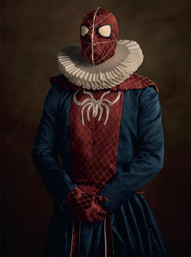 dfb11e3229a Как выглядели бы супергерои в эпоху Средневековья