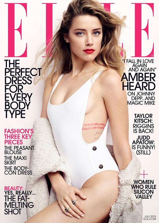 Эмбер Херд для Elle