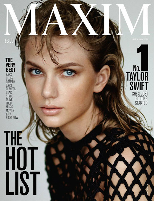 Тейлор Свифт Maxim 2015
