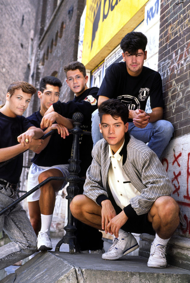 One Direction as New Kids On The Block