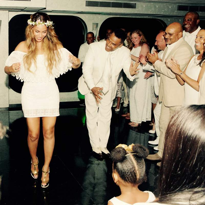 Beyonce family wedding