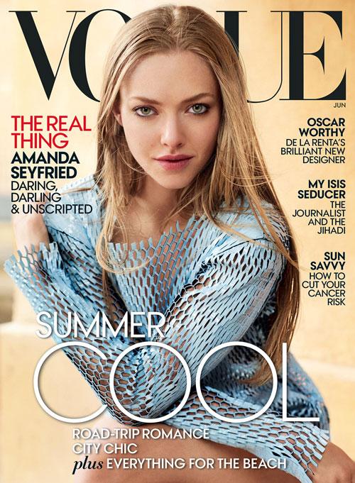 Аманда Сейфрид Vogue 2015