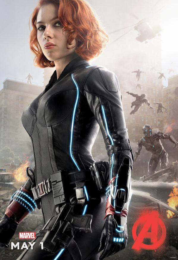 Черная Вдова - Мстители: Эра Альтрона