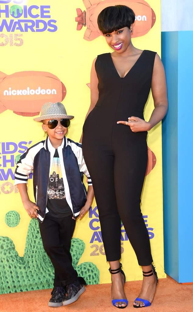 Дженнифер Хадсон с сыном
