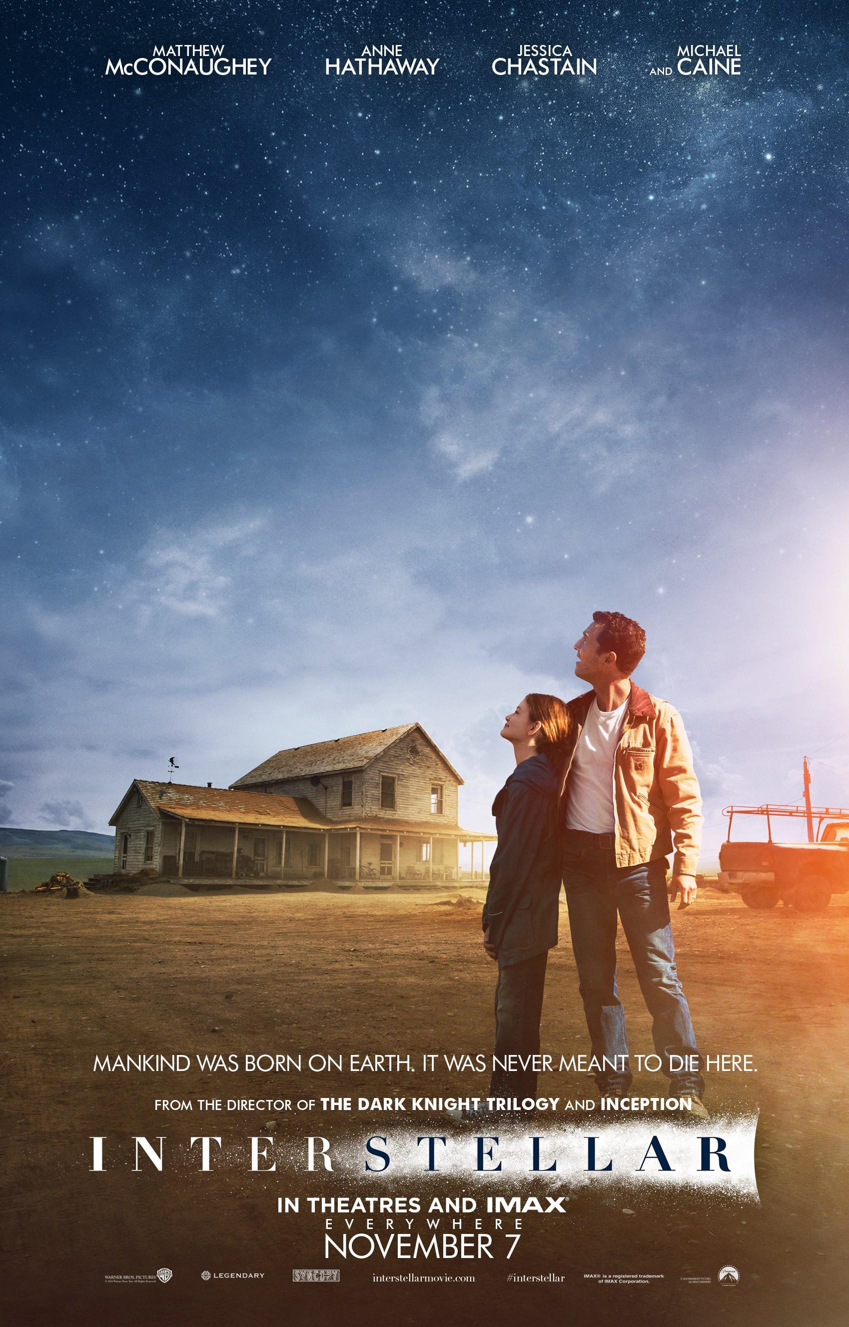 Интерстеллар (США, Великобритания, 2014), Режиссёр: Кристофер Нолан.