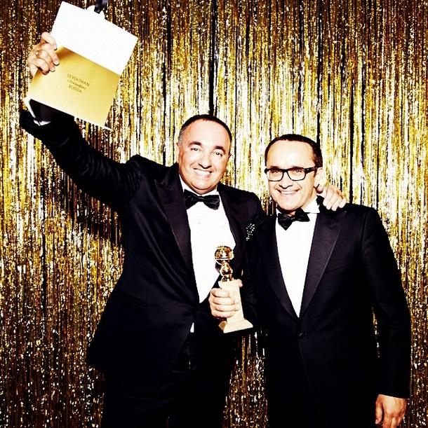 Золотой глобус: Александр Роднянский и Андрей Звягинцев