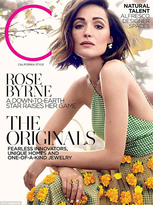Роуз Бирн C Magazine 2015